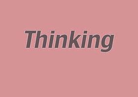 Thinking advanced language learner