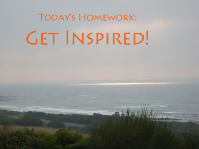 Homework to be inspired by