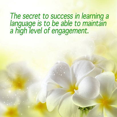 engagement in learning languages